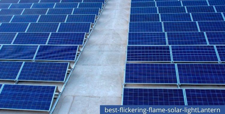 Best Flickering Flame Solar Light Lantern