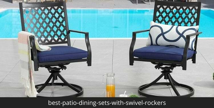 best-patio-dining-sets-with-swivel-rockers