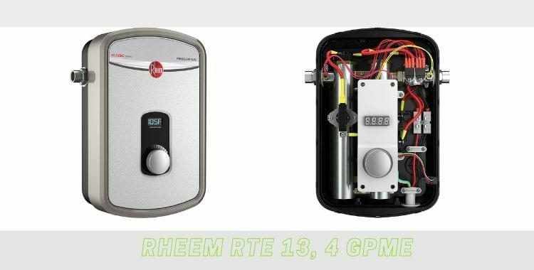 Rheem RTE 13, 4 GPM